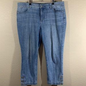 Talbots Medium Wash Ankle Jeans